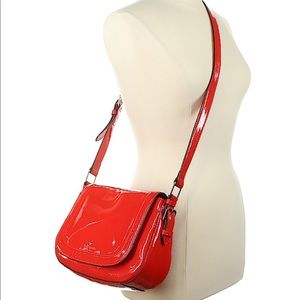 KATE SPADE NY Red Leather Piper Carlisle